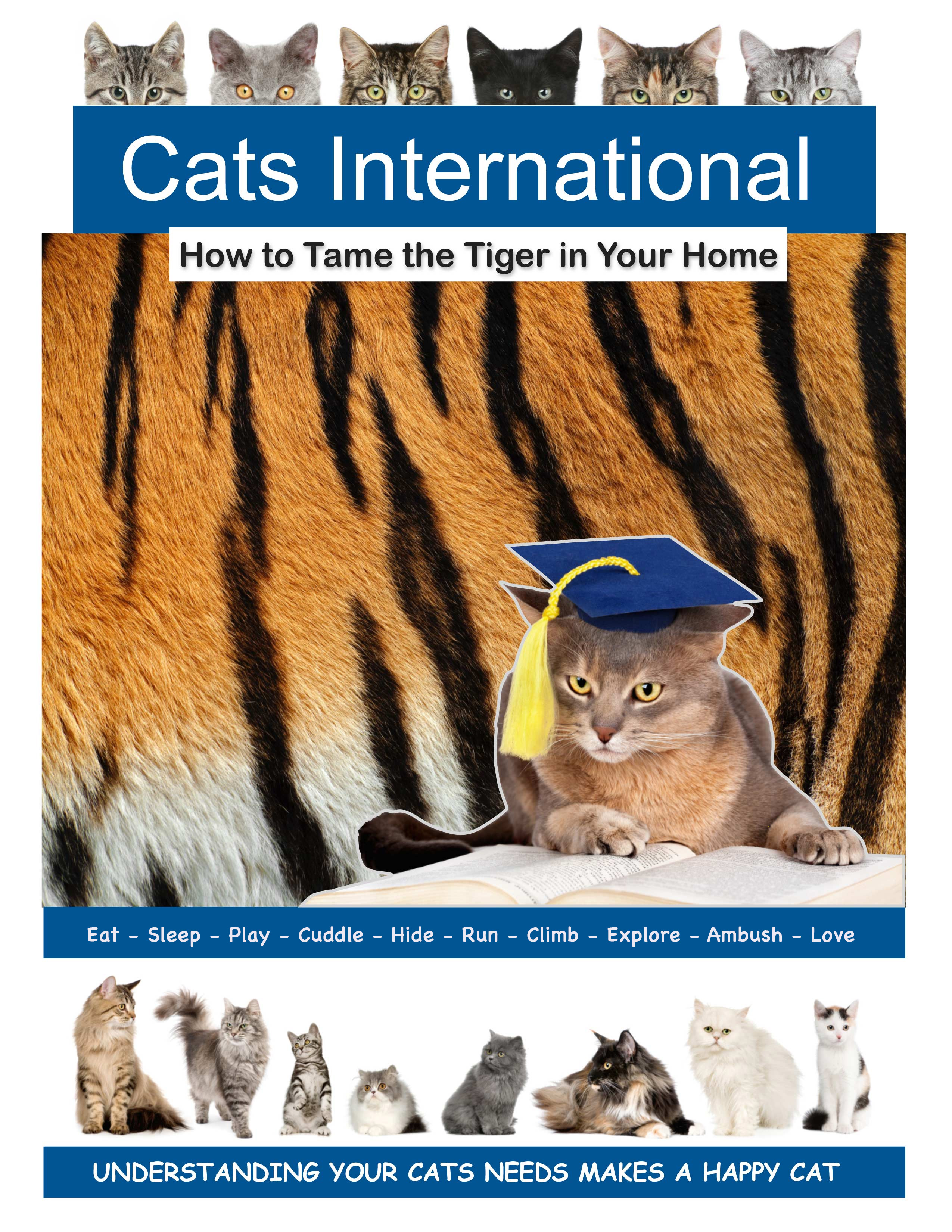 Cats International - Printable Booklet